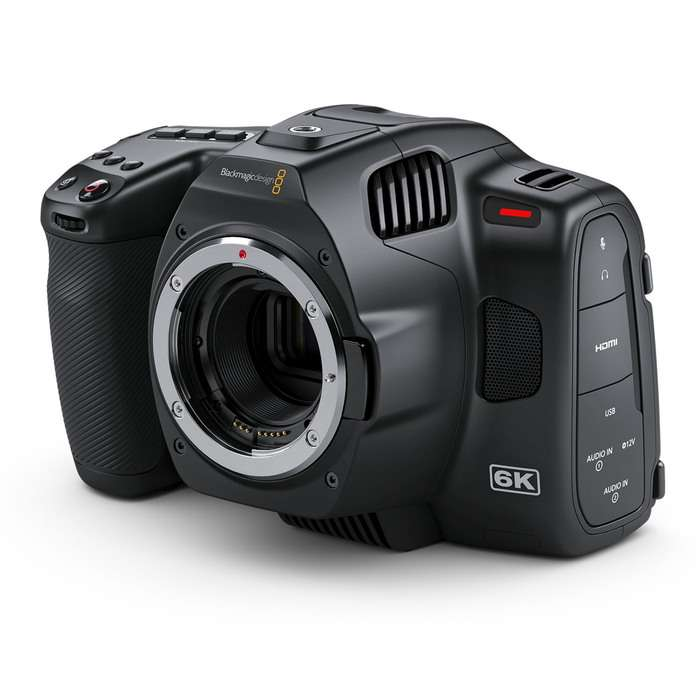 Blackmagic Pocket Cinema Camera 6K PRO  Set  | 18-35 | 50-100