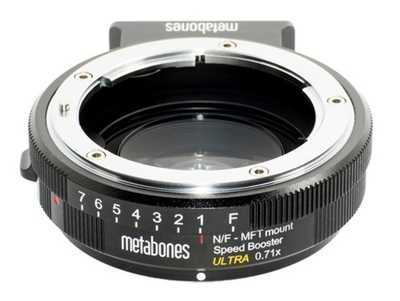 Metabones Speed Booster ULTRA 0.71x z Nikon G(F) na Micro 4/3