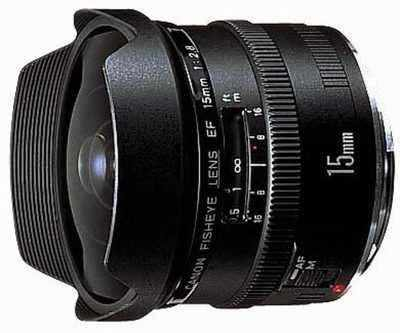 Canon EF 15mm f/2,8 Fish-Eye