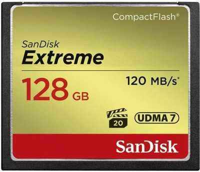 SanDisk CompactFlash Extreme 128GB 120 MB/s