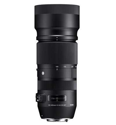 Sigma 100-400 mm f/5-6,3 DG OS HSM Contemporary  Canon